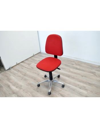 Comprar Silla roja de oficina con ruedas  segunda mano