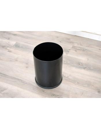 Papelera Circular color Negro