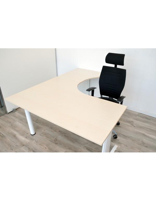 Mesa de melamina guialmi 160 x 200 cm