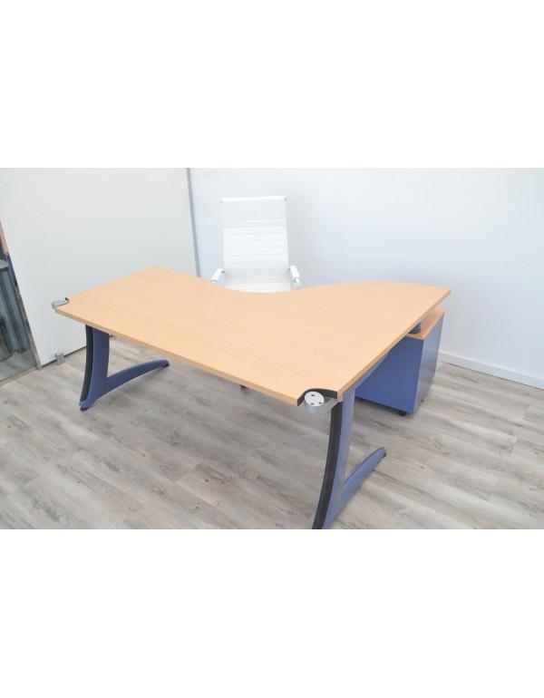 Mesa de oficina STEELCASE 180 x 140 cm