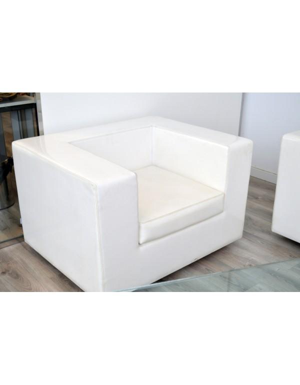 Sofa sala espera sofa blanco ZANOTTA