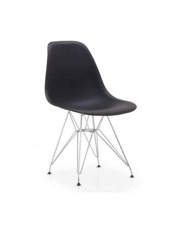 Silla Plastic CR-Negro