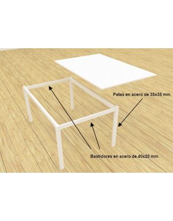 Mesa recta LINE 60cm
