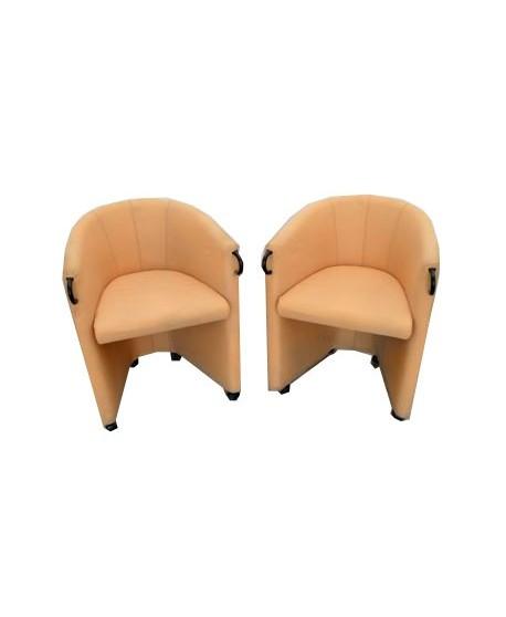 Conjunto de 2 sillones de espera