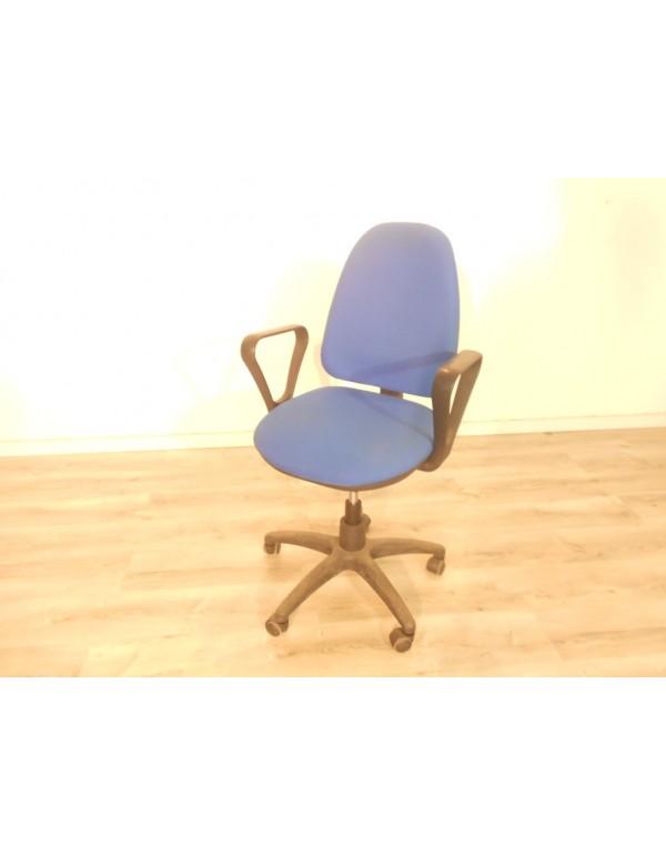 Silla oficina azul
